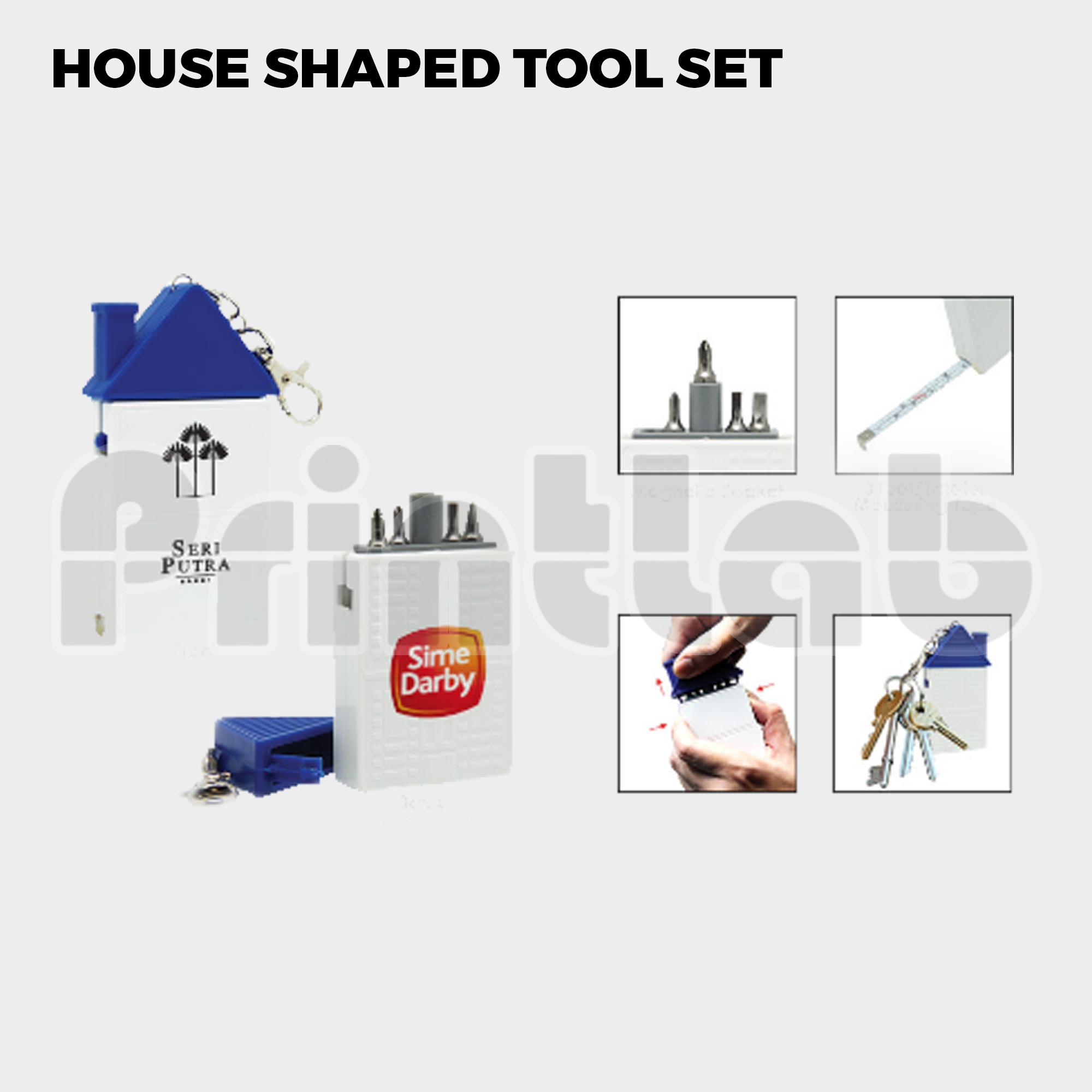 House Shaped Tool Set