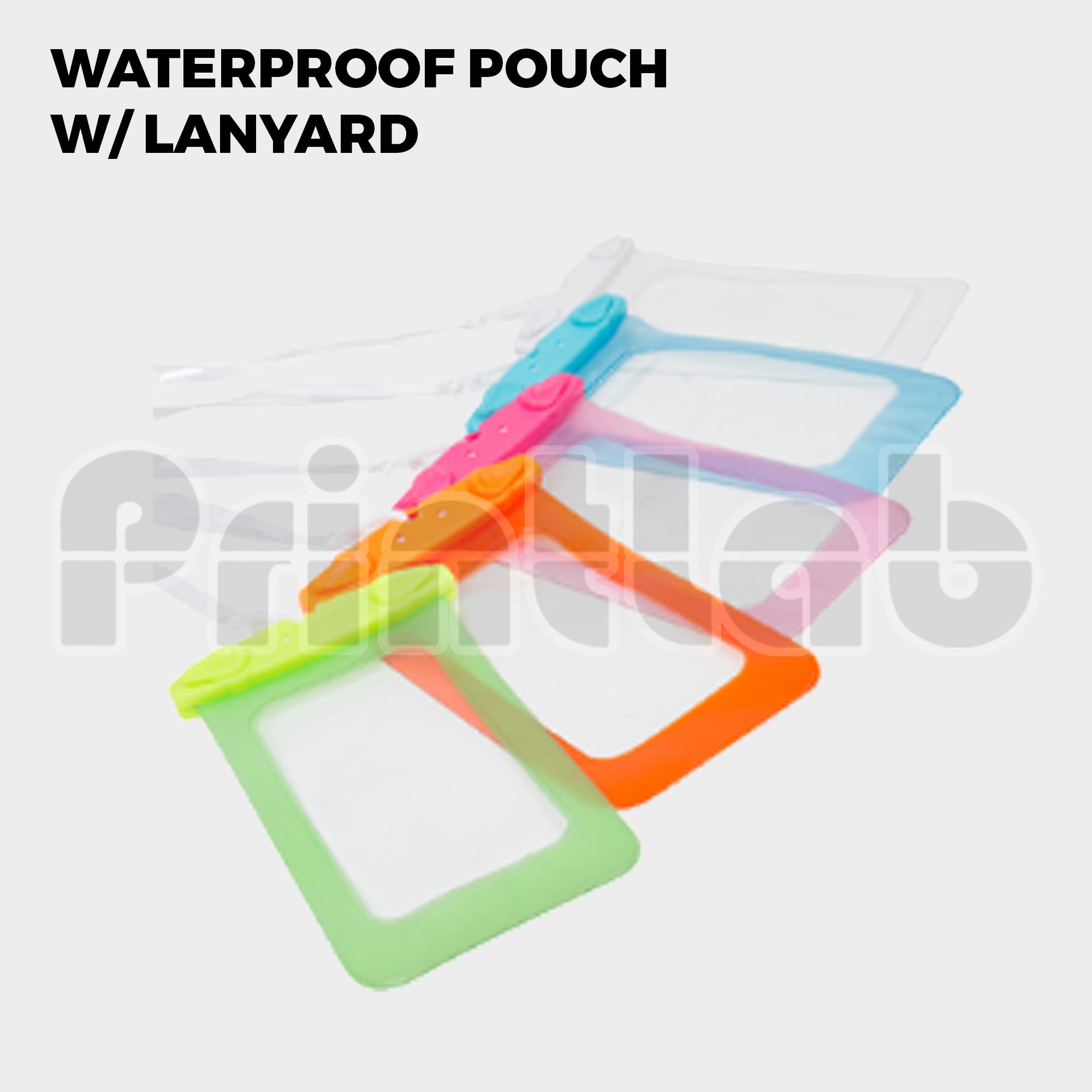 Waterproof Pouch w/ Lanyard