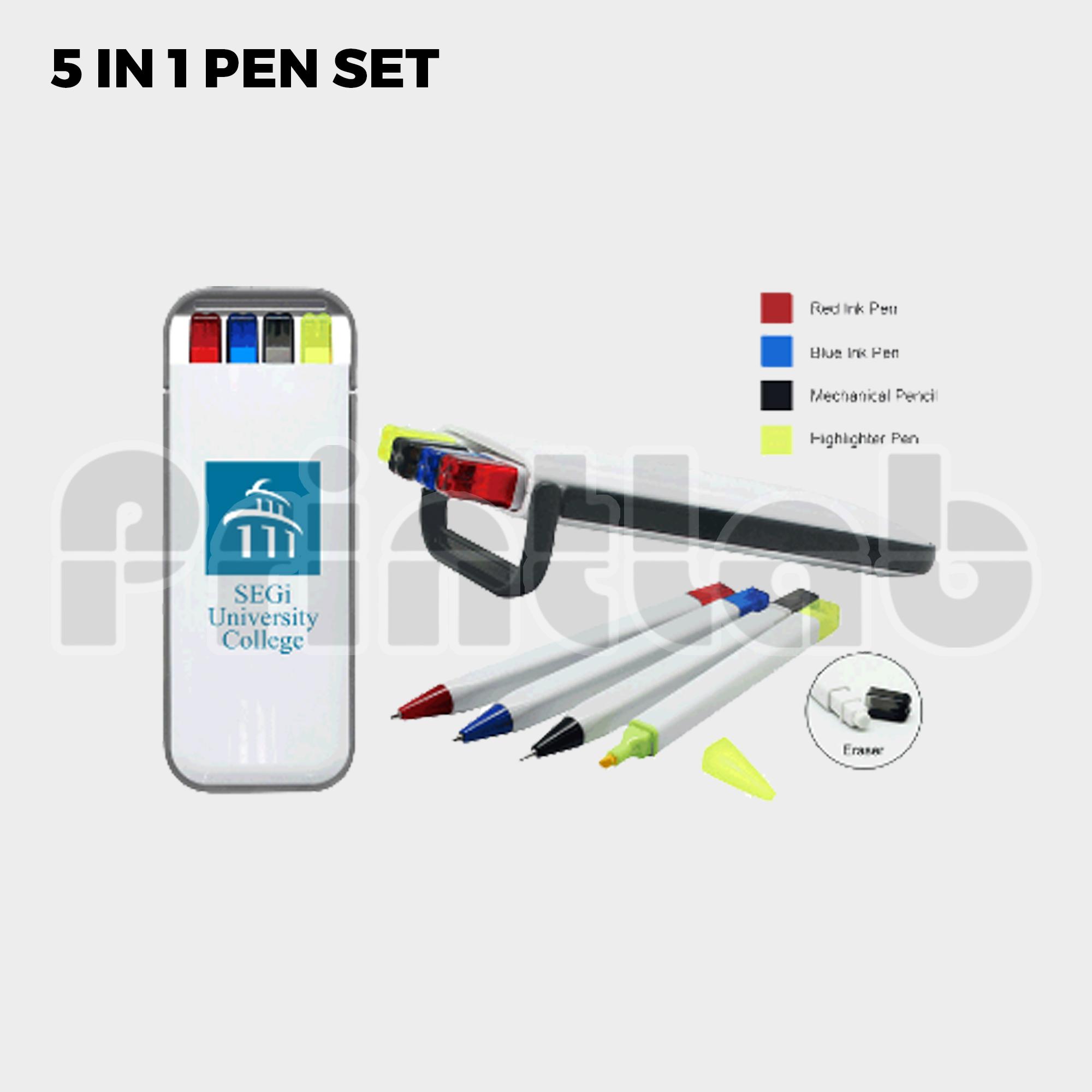 5 In 1 Pen Set