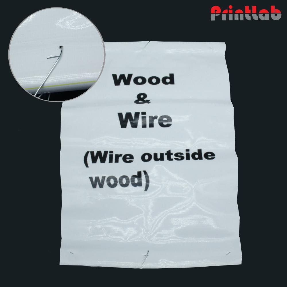 Wire Across Wood