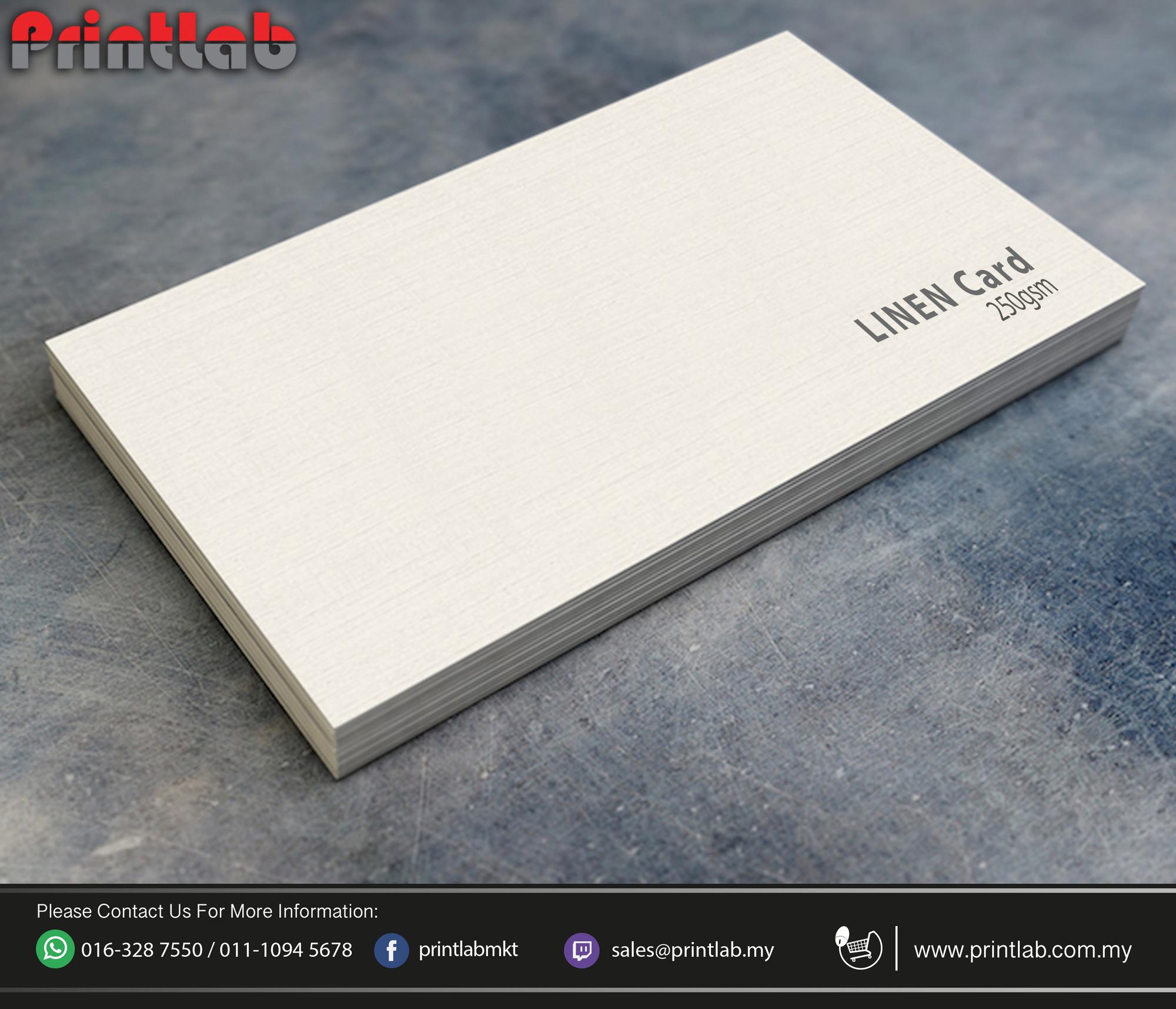 Linen Card 250gsm
