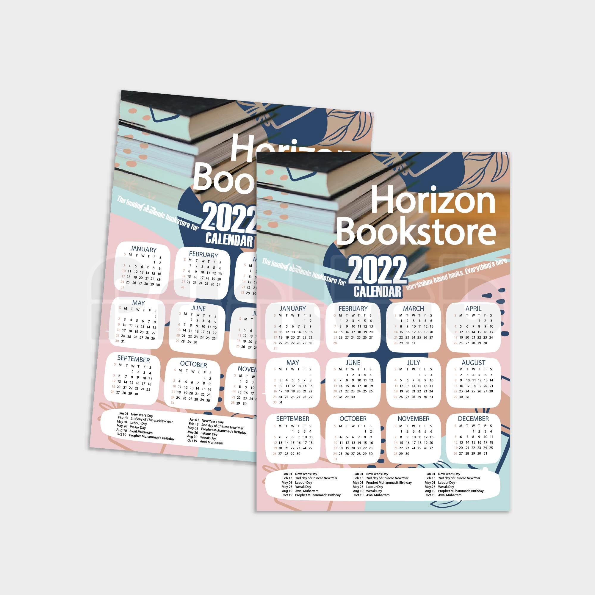 Poster Calendar A3