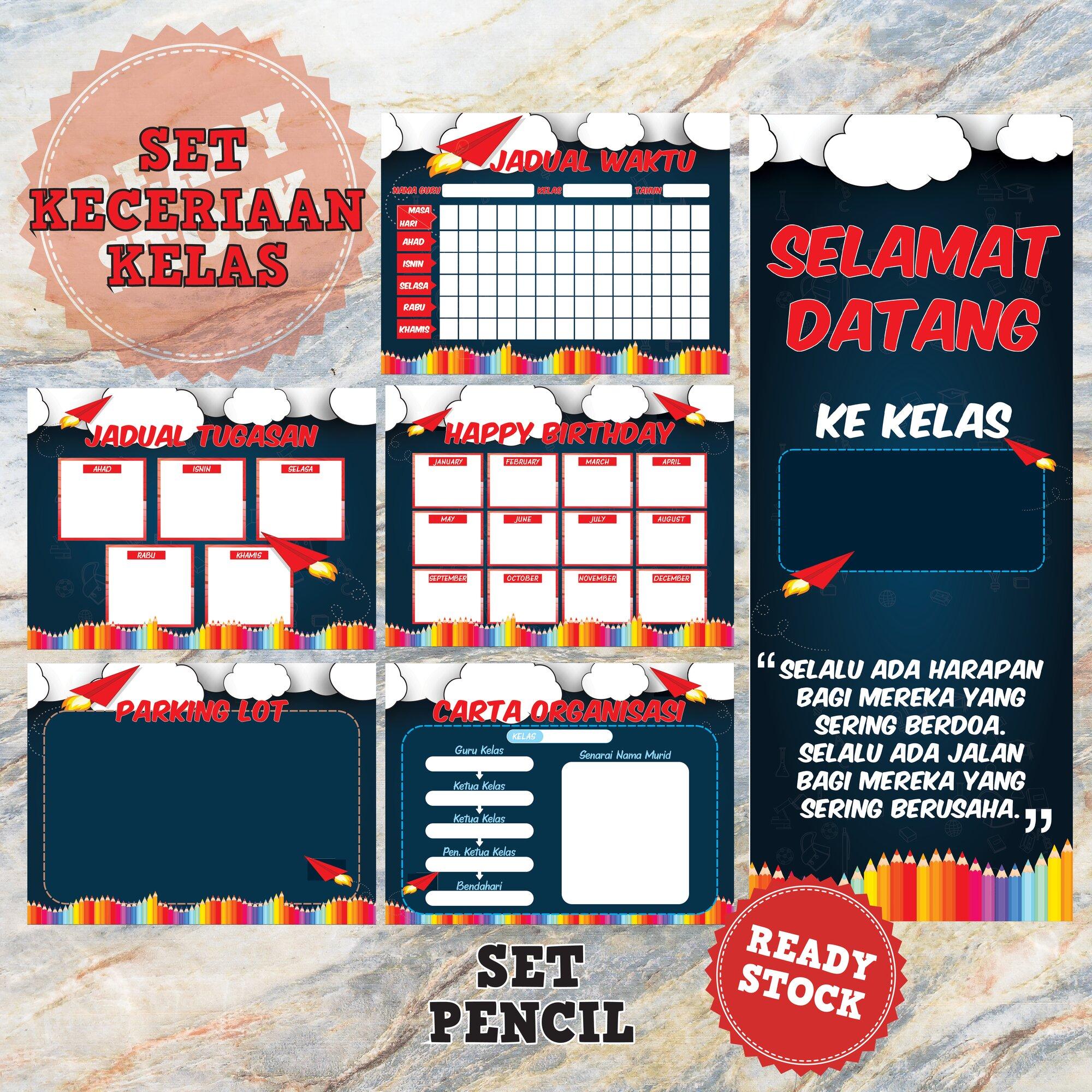 Set Pencil