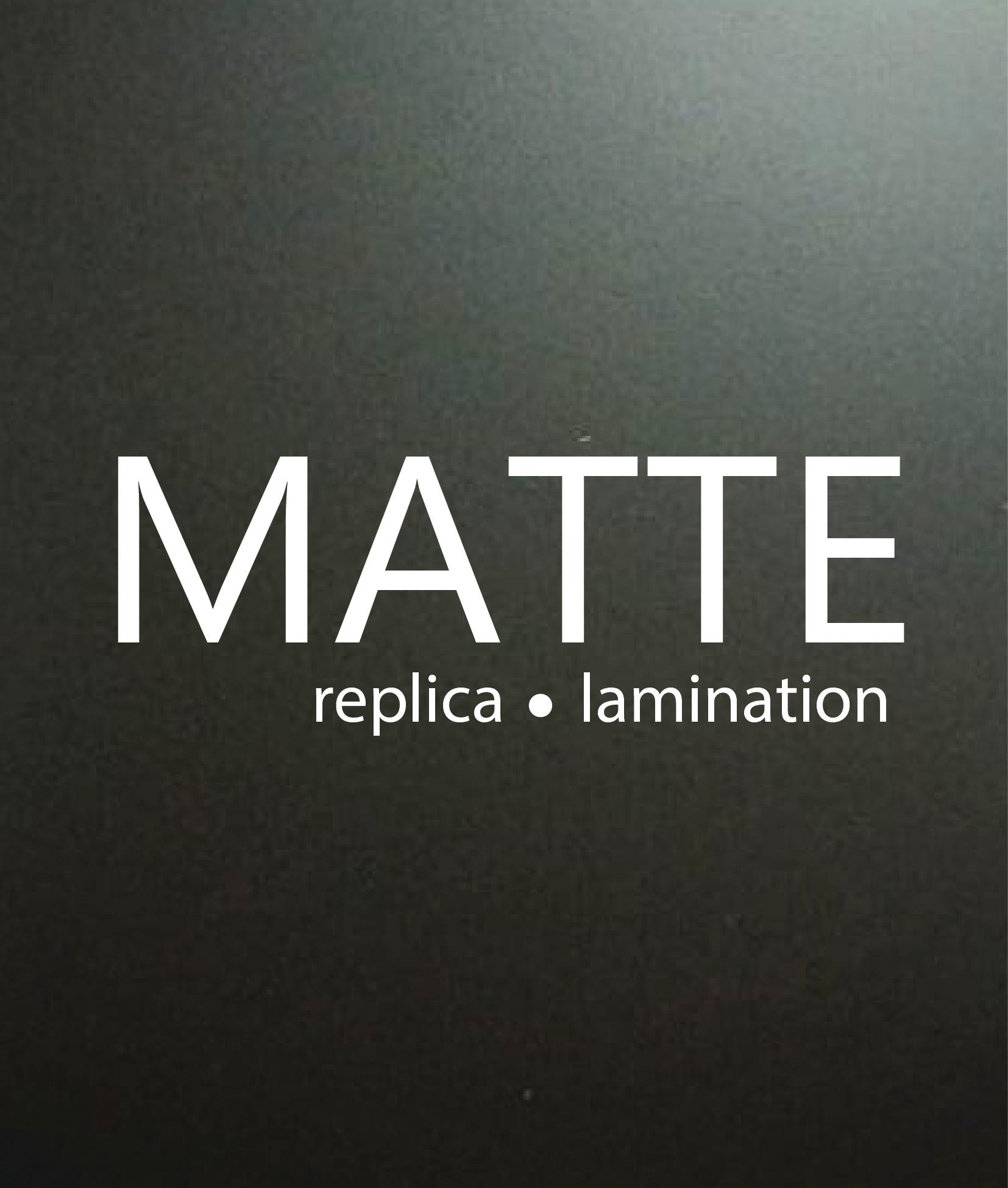 Matt Lamination