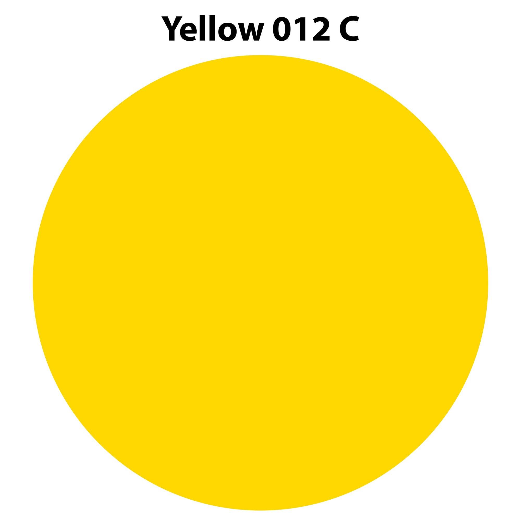 Yellow 012 C