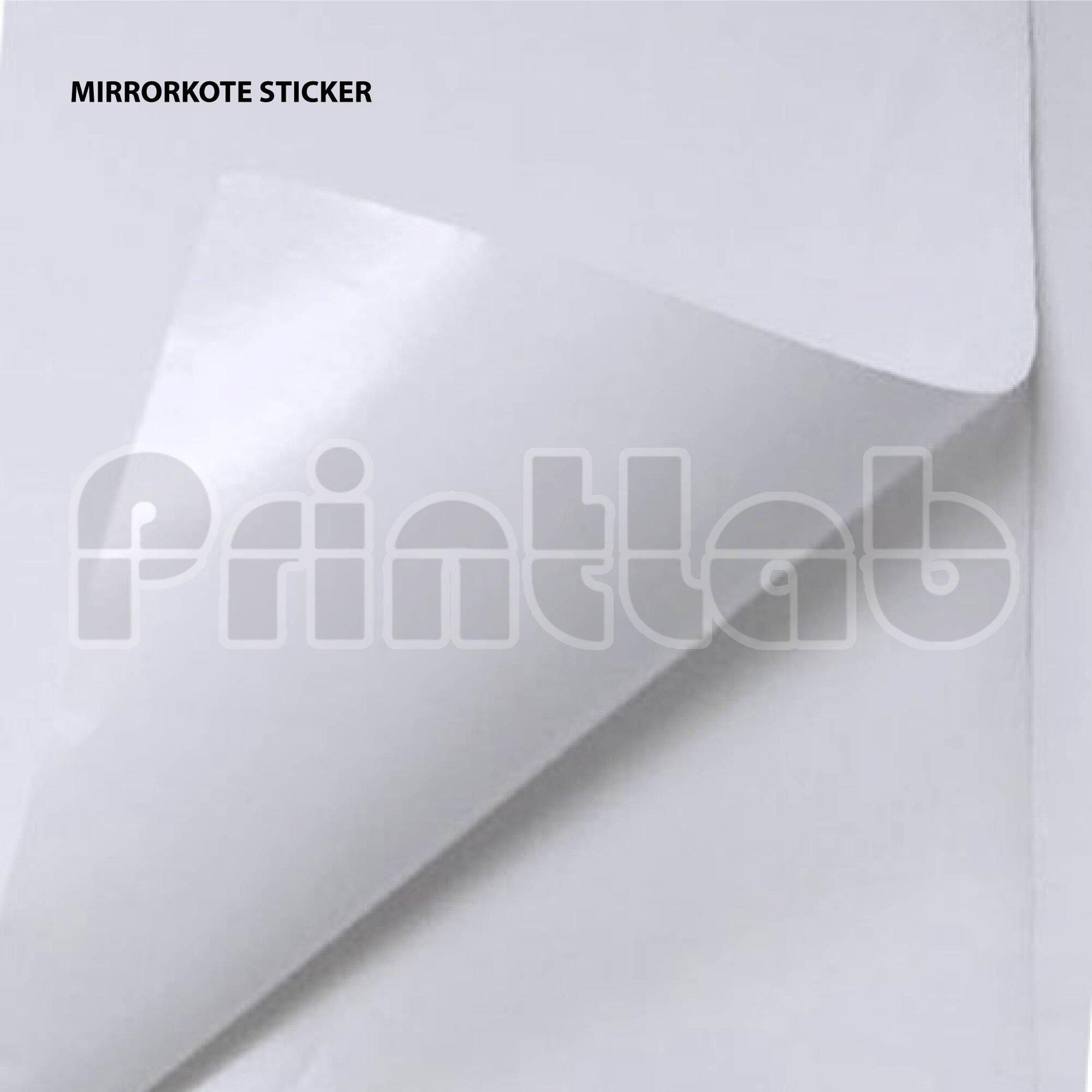 Mirrorkote Sticker